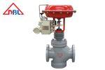 单作用气动薄膜调节阀和双作用气动调节阀的两种保位方案